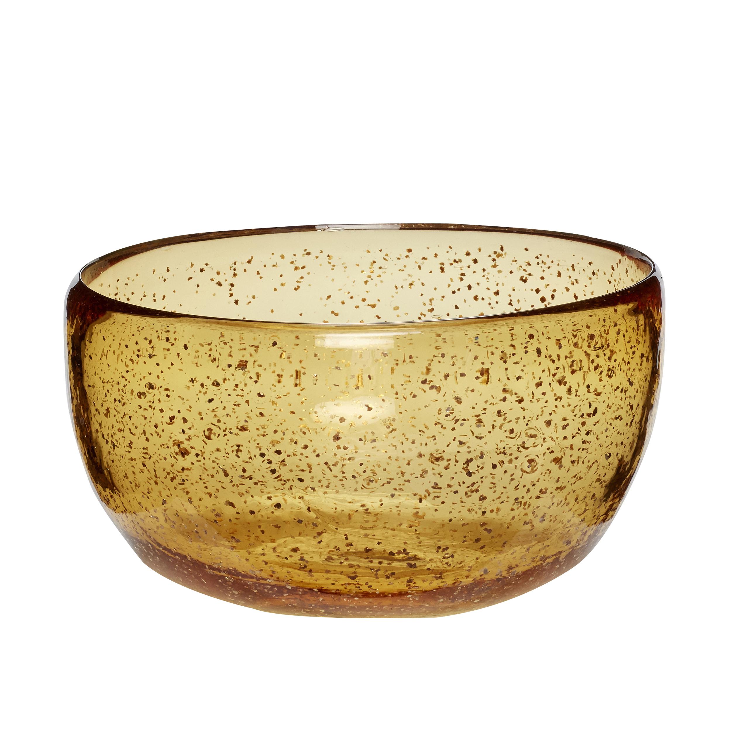 Skål Glas Amber