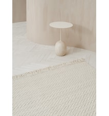 Idun Tæppe Hvid 170x240 cm