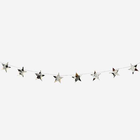 Printed star girlander
