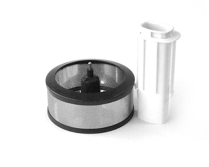 Saftcentrifug stål/vit