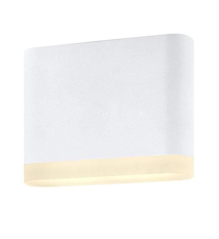 Uno Vegglampe 1L Hvit