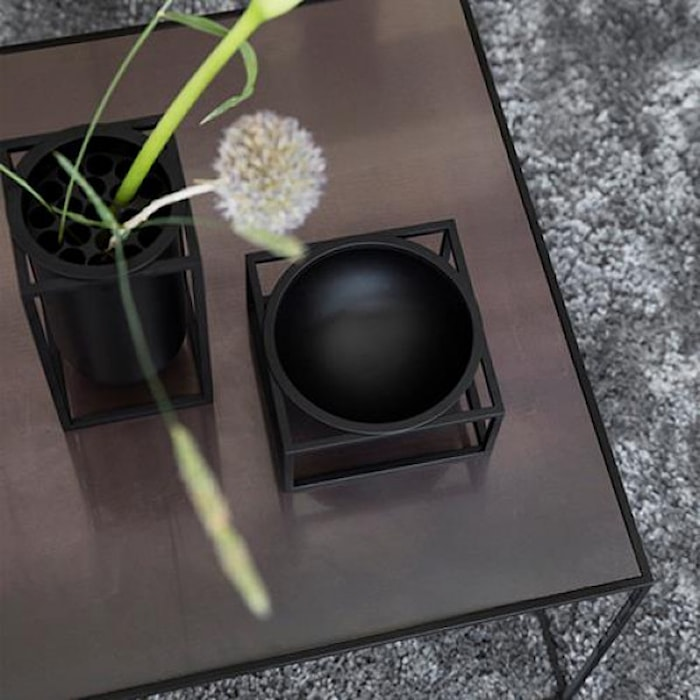 Kubus Skål Centerpiece Small Svart