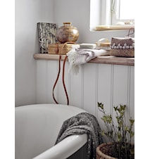 Burk med lock Nature Bambu set av 2