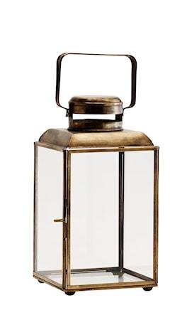 Lanterna 14x14x26 cm Mässing