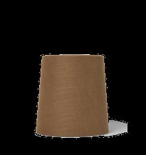 Hebe Lampskärm Medium Curry 27.5x28.5 cm