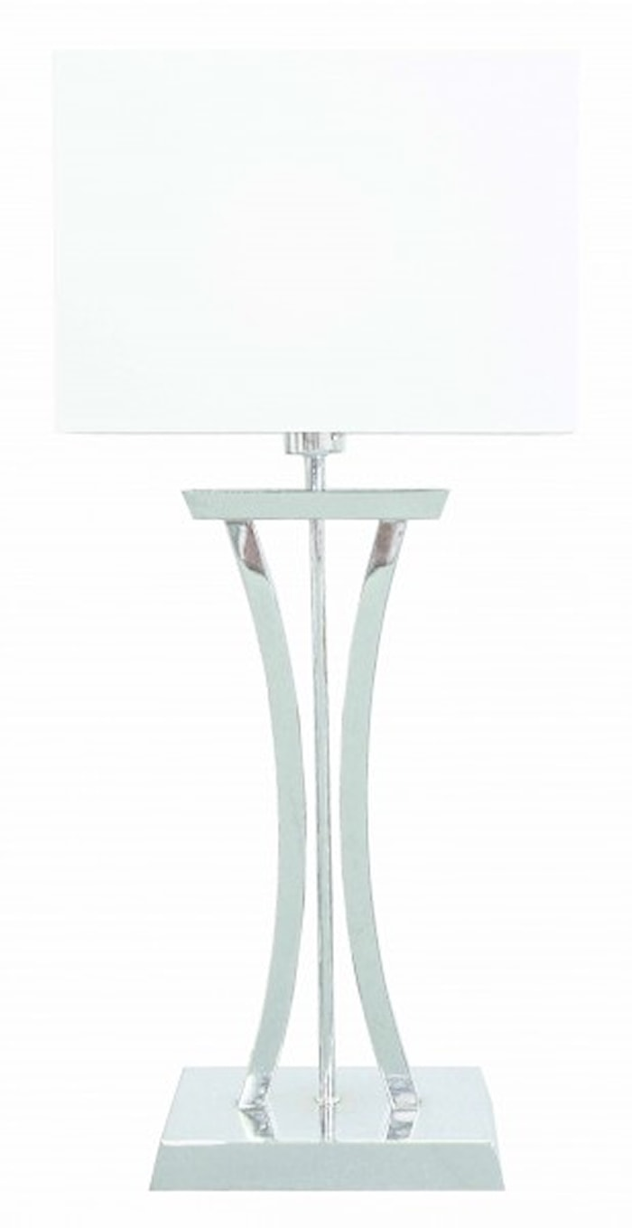 Chelsea XL Elegant Bordslampa Krom
