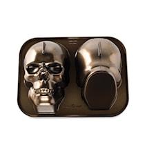Moule à gâteau 3D crâne
