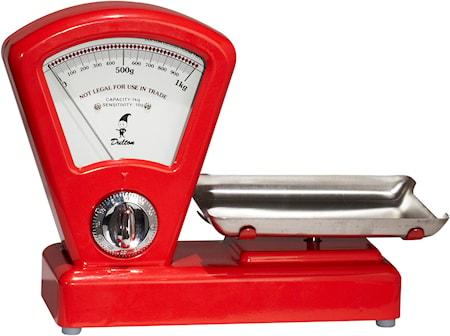 Køkkenvægttimer Rød