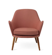 Dwell Lounge Chair Blush Hero