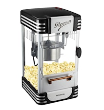 Popcorn Machine Retro Black Edt