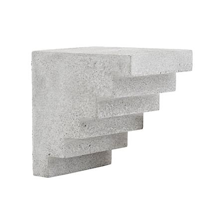 Art piece Stairs Grey l: 15 cm w: 12 cm h: 15 cm