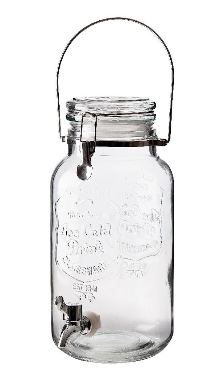 Dryckesdispenser med lock 4 L