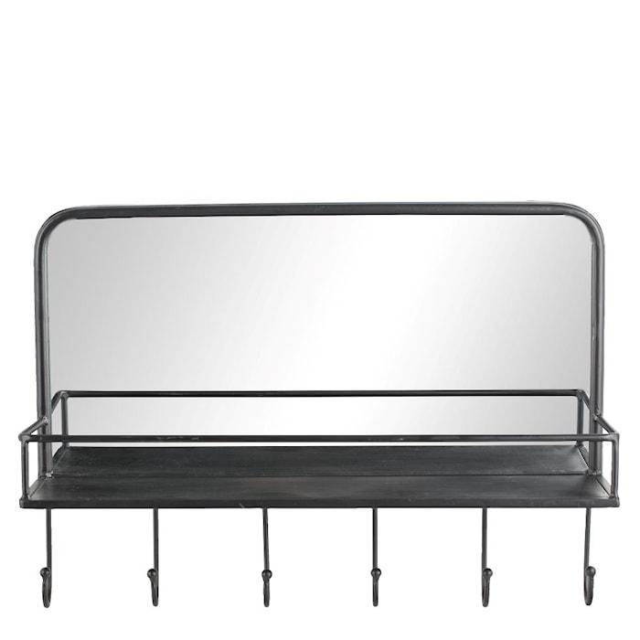 Spegel Hildia Svart