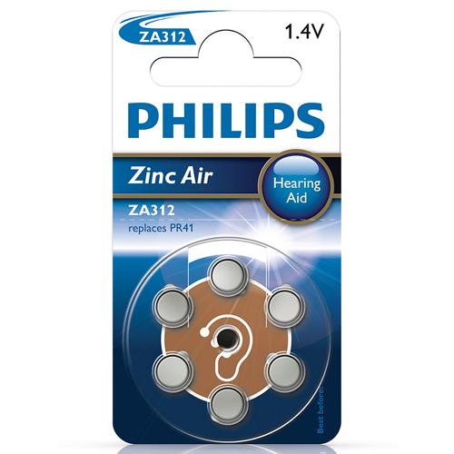 Fashion ZA312 14V 6-p till hörapparat