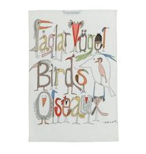 Fuglene prater Kjøkkenhåndduk