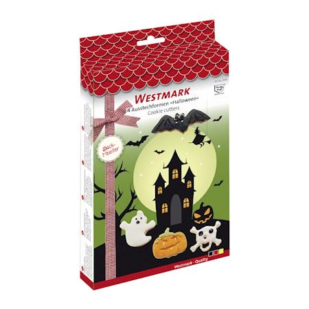 Halloween Kakform 4-pack Rostfritt Stål