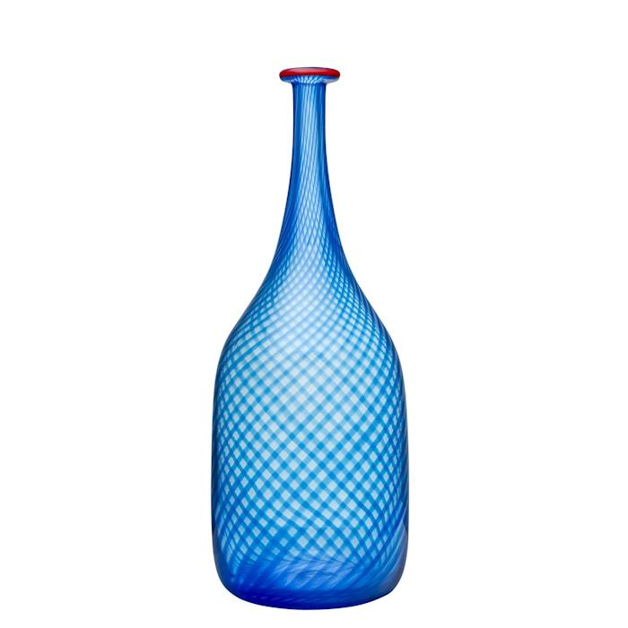 Red Rim Blå Flaska 26 cm