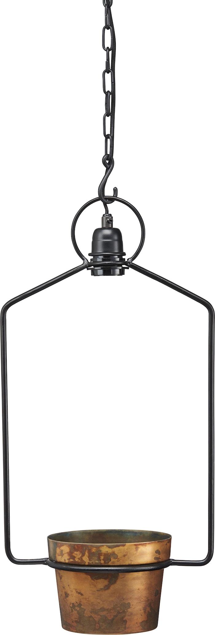 Upptown Fönsterlampa Svart 57cm