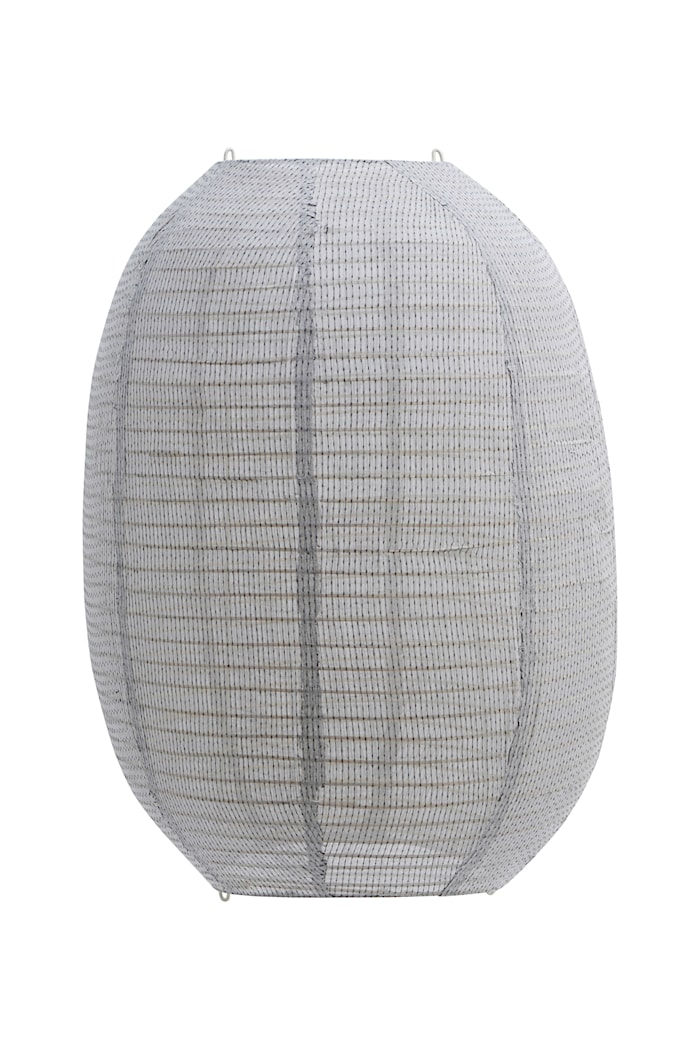 Lampeskjerm Stitch Lysegrå - 50x60 cm