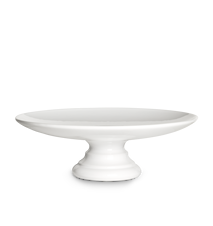 Basic Tårtfat Vit 33 cm