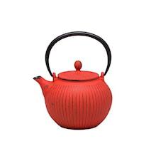Teekannu Tokyo, punainen, 1,2 l