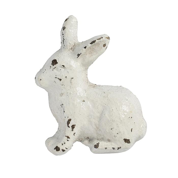 Kahva Kaniini 5x4 cm - Valkoinen