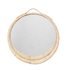 Joline Mirror Cane Nature Ø38cm