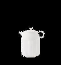 Tsè Teekannu 1,2 l Valkoinen Posliini