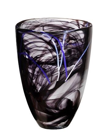 Sontrast Svart Vase H: 200mm