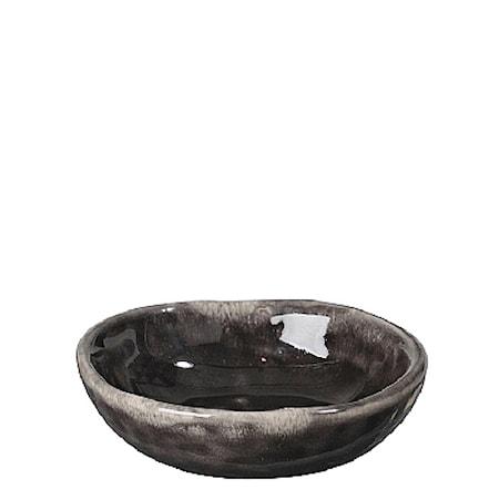 Smörfat Nordic Coal Ø 7 cm