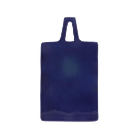 Skærebræt i Keramik Blå 30 cm