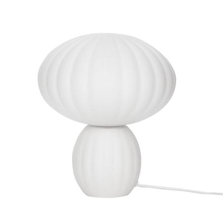 Bordslampa Glas Opal