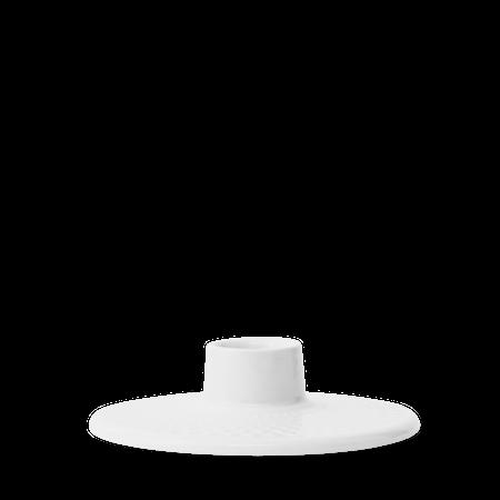 Rhombe Ljusstake Vit Ø10,5 cm