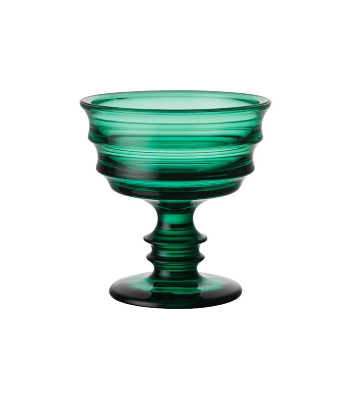 By Me Smaragdgrønn Skål D: 128mm
