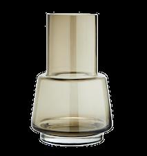 Vase Glass 11 x 17 cm - Coffe