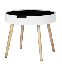 Tapa Coffee Table, White, MDF