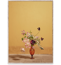 Blomst 02 / Ochra Poster 30x40 cm