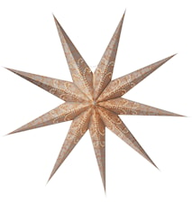Ludwig Julstjärna Silver/Guld 118 cm