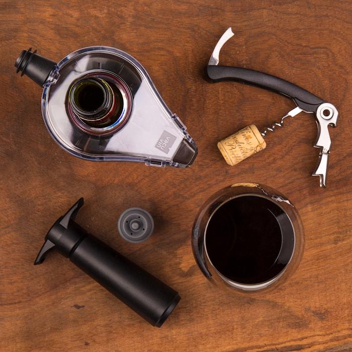 Wine saver gaveforpakning
