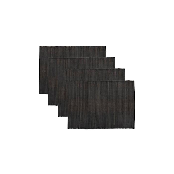 Bordstablett Bamb Svart