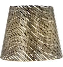 Mia hålad lampskärm Antik mässing 17cm