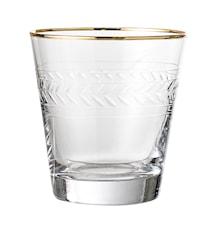 Dricksglas Guldkant 35 cl
