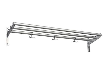 Nostalgi aluminium/aluminium L=1000 mm hatt/skohylla
