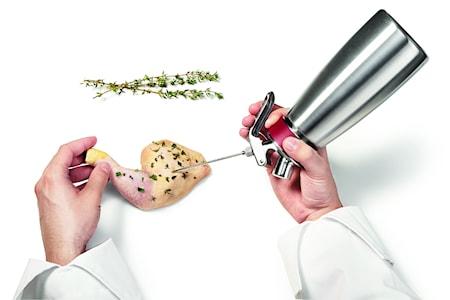 Neulapäät Gourmet Whip Sifoniin