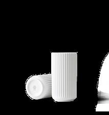 Vase Porselen Hvit 20,5cm