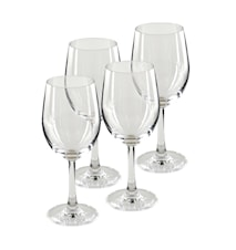 Pure & Simple Vitvinsglas 4-pack Klar