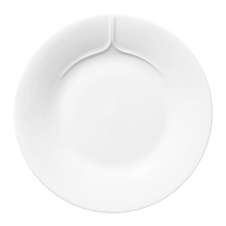 Pli Blanc Tallrik 17 cm