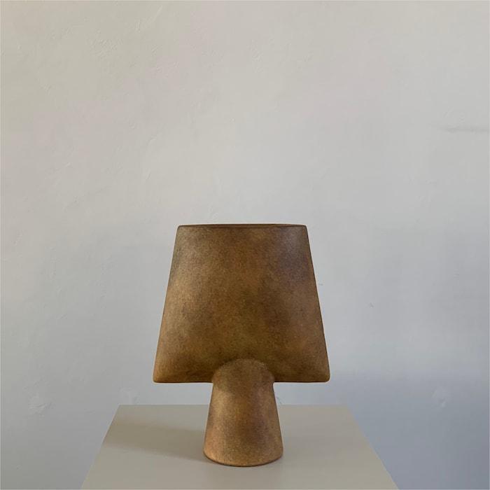 Sphere Kvadratisk Vase Mini Oker