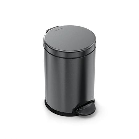 Pedalhink Svart Rostfritt Stål 4.5L