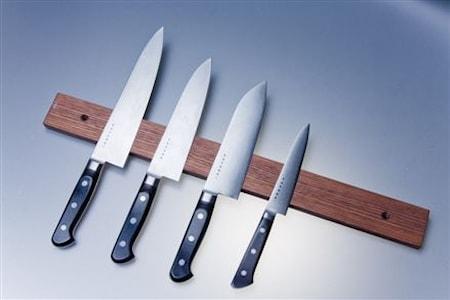 Knivmagnet Valnöt 50 cm